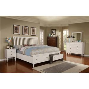 Lifestyle 4135A Cal King Bedroom Group