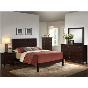 Lifestyle 5125 California King Bedroom Group