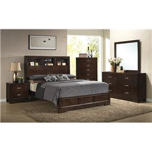 Lifestyle Bookie California King Bedroom Group