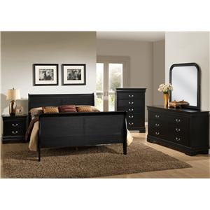 Lifestyle C5934 Full Bedroom Group