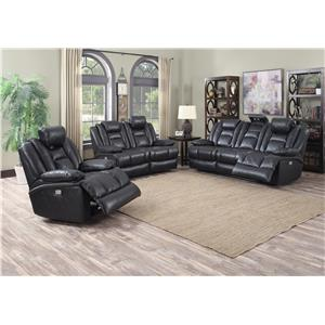 Lifestyle U35883 Reclining Living Room Group