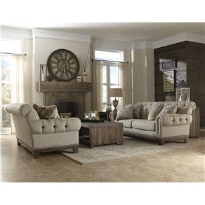 Magnussen Home Caitlyn Stationary Living Room Group