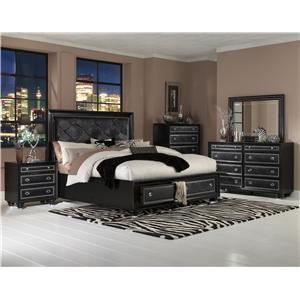 Magnussen Home Onyx Bedroom Cali King Bedroom Group