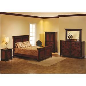 Queen Panel Bed Bedroom Group