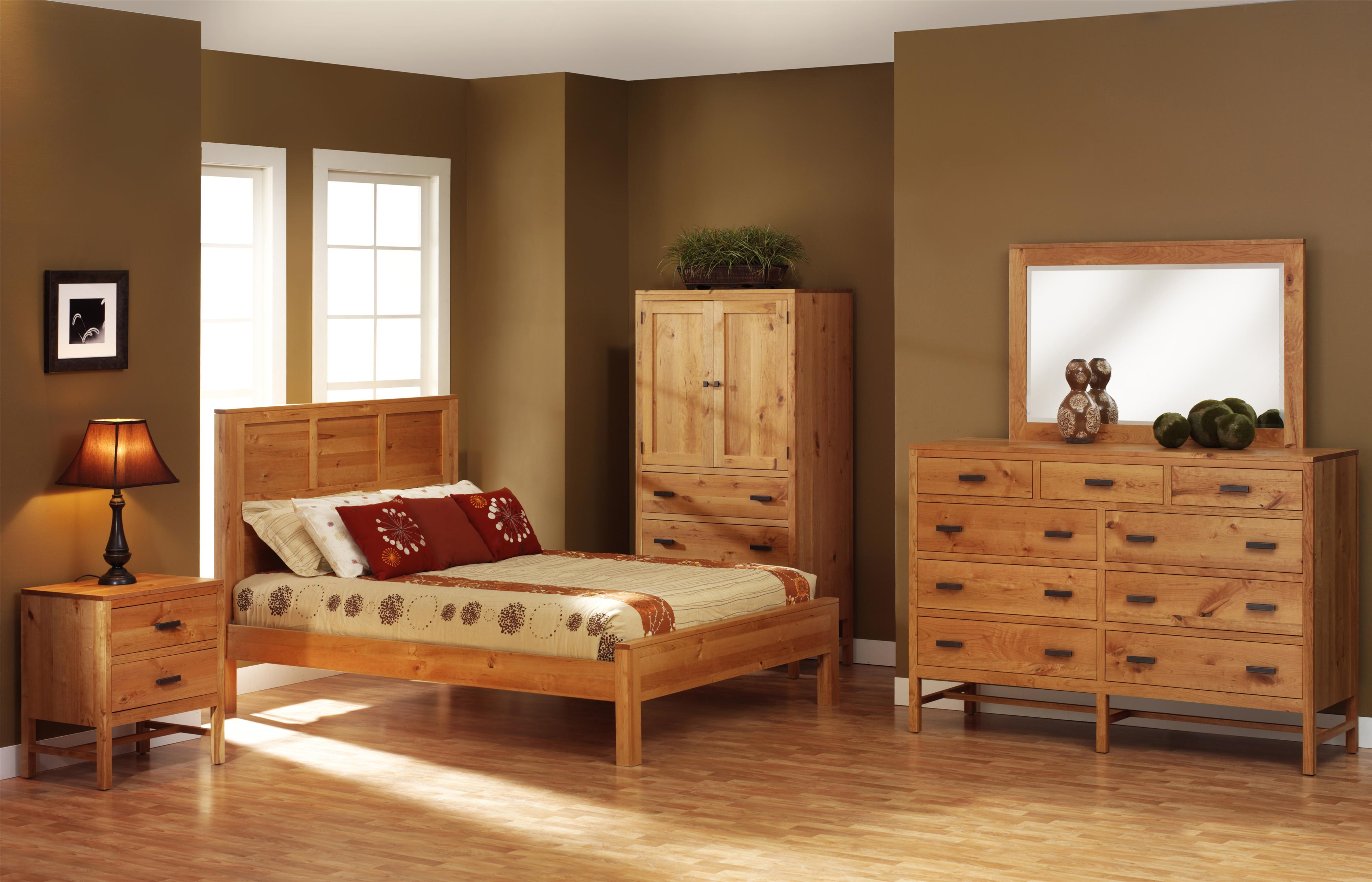 Lynnwood Queen Bedroom Group by Millcraft at Saugerties Furniture Mart