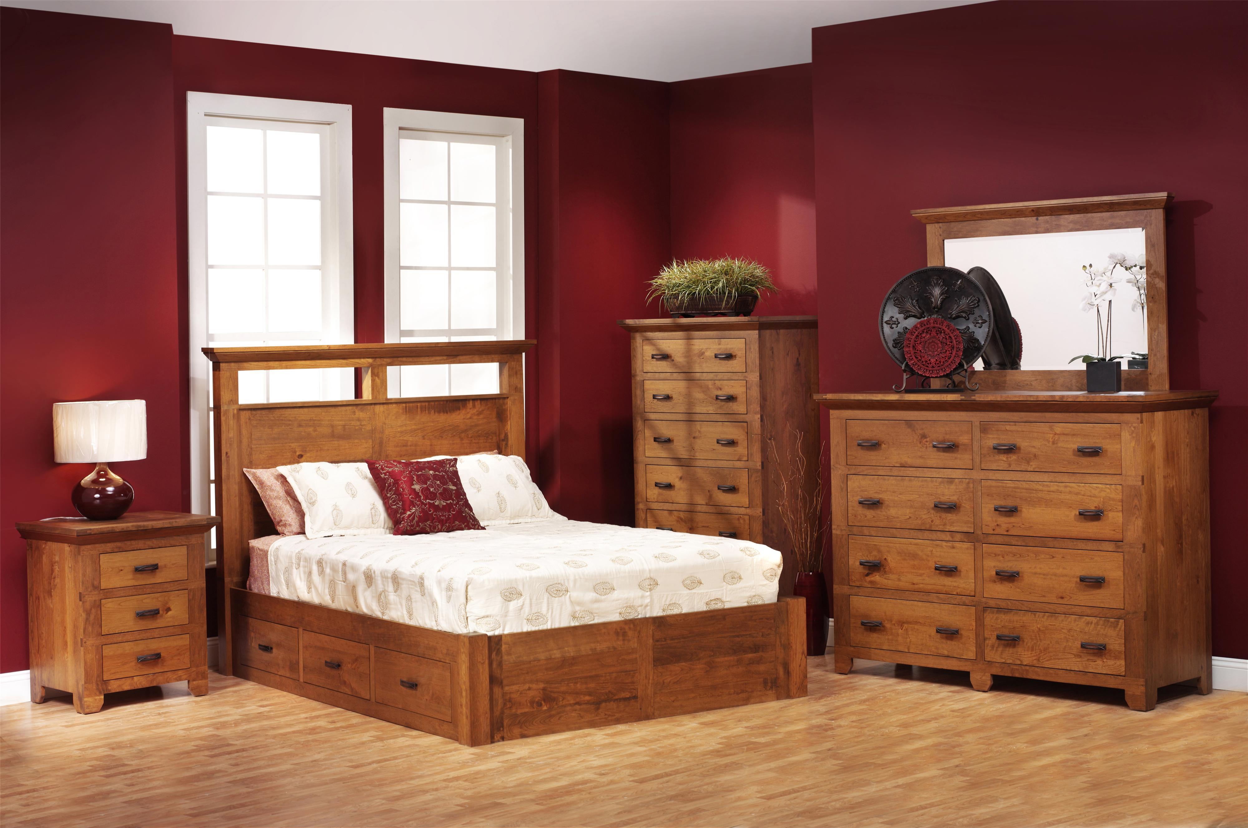 Redmond Wellington Queen Bedroom Group at Williams & Kay