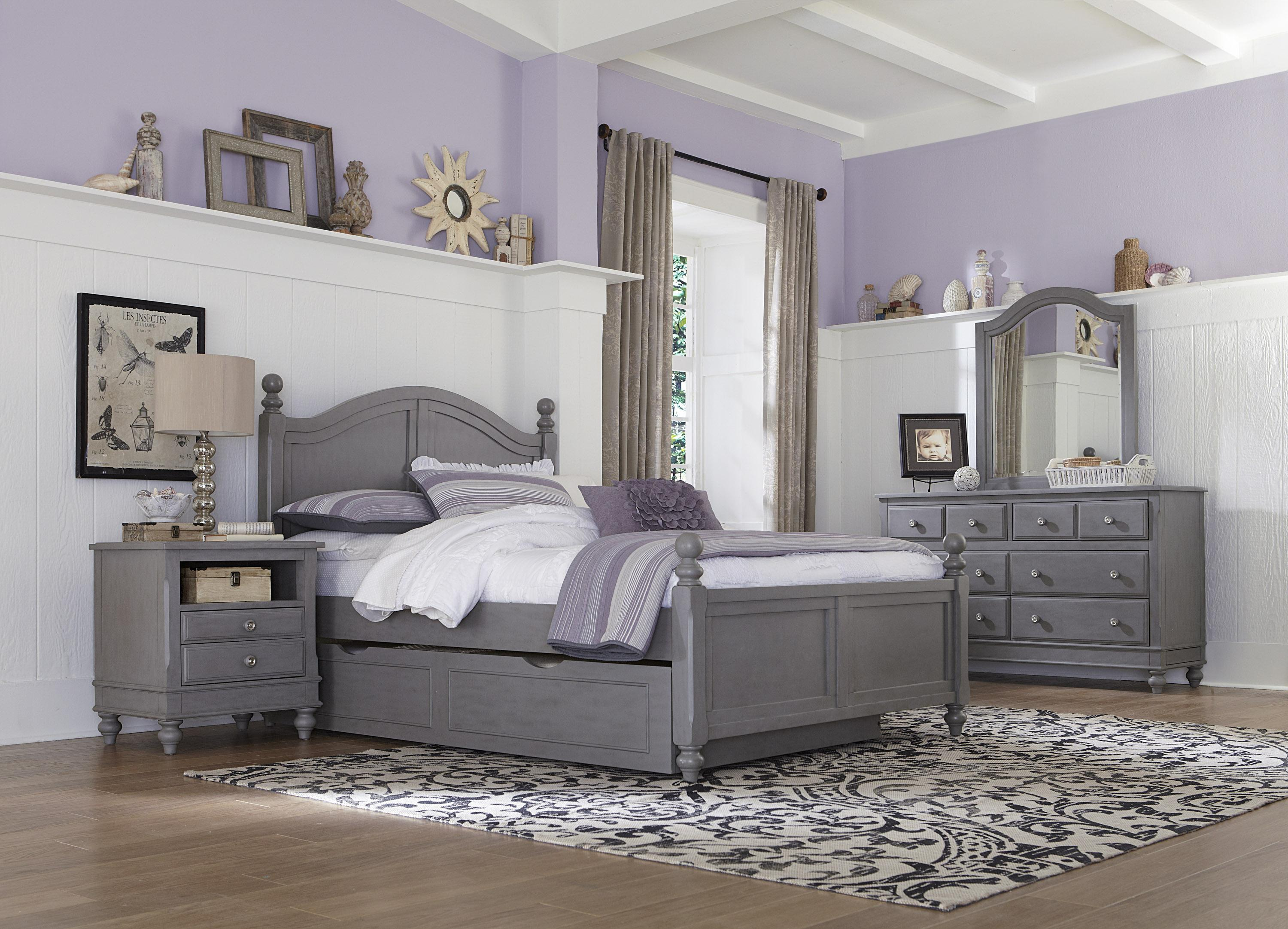 Lake House Twin Payton Trundle Bed by NE Kids at Furniture Barn