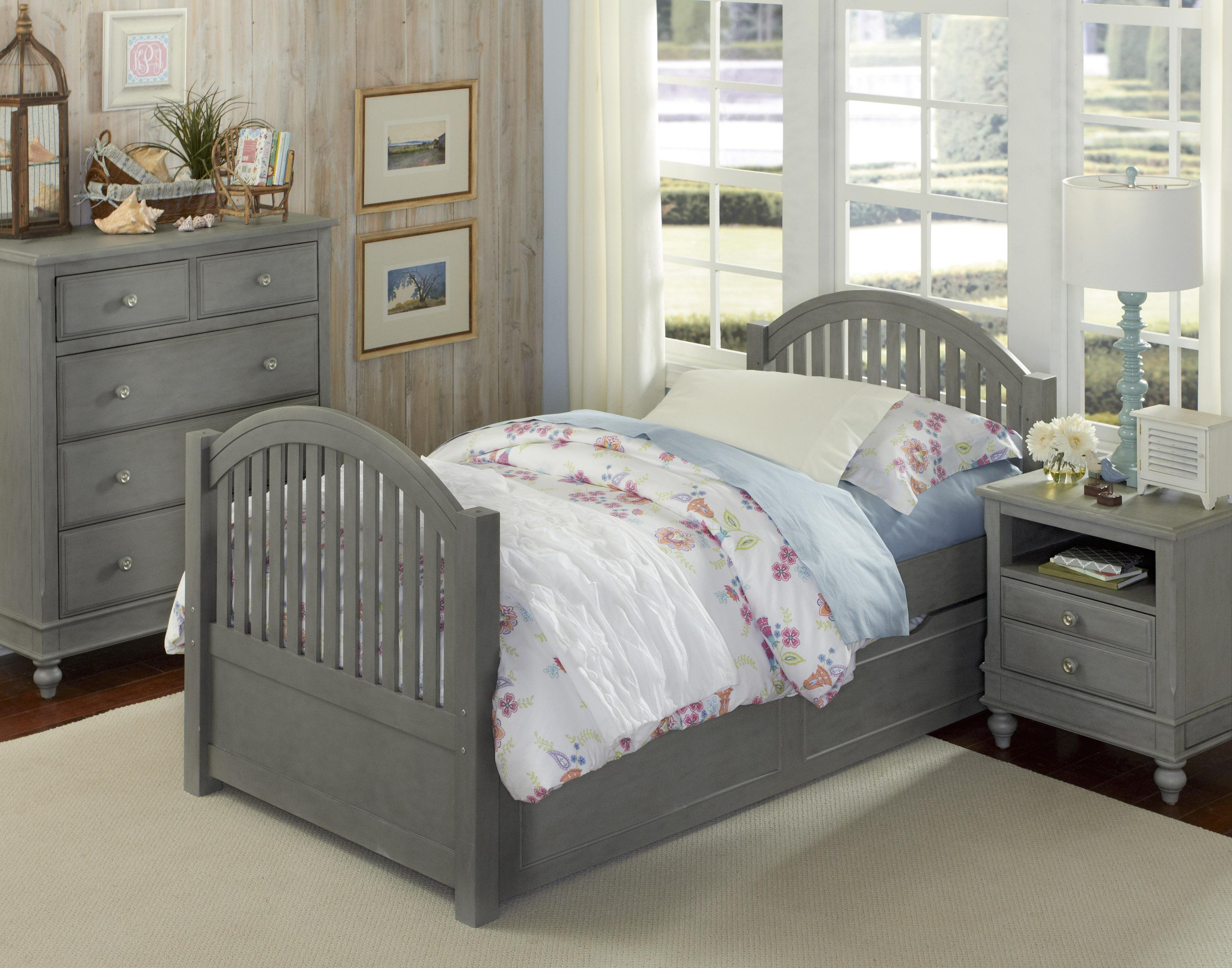 Lake House Twin Adrian Trundle Bed  by NE Kids at Furniture Barn