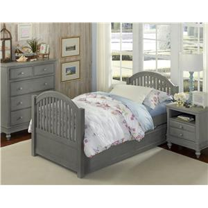 NE Kids Lake House Twin Adrian Trundle Bed