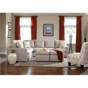Overnight Sofa 26 Frame Stationary Living Room Group