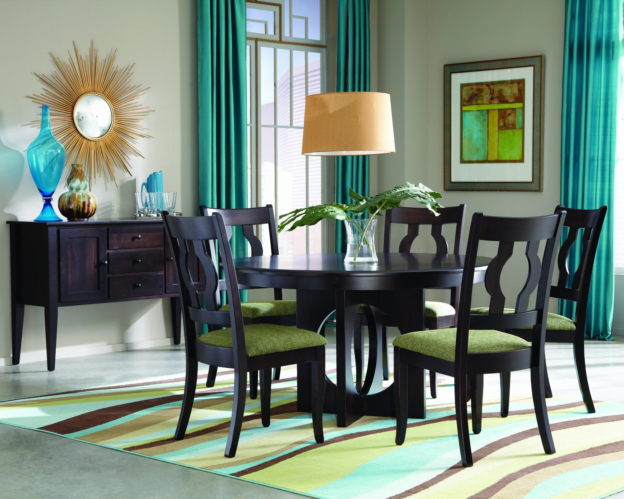 Single Metro Casual Dining Room Group by Palettes by Winesburg at Dinette Depot