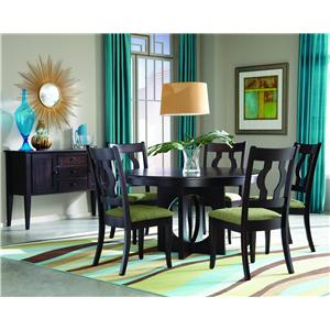 Palettes by Winesburg Single Metro Casual Dining Room Group