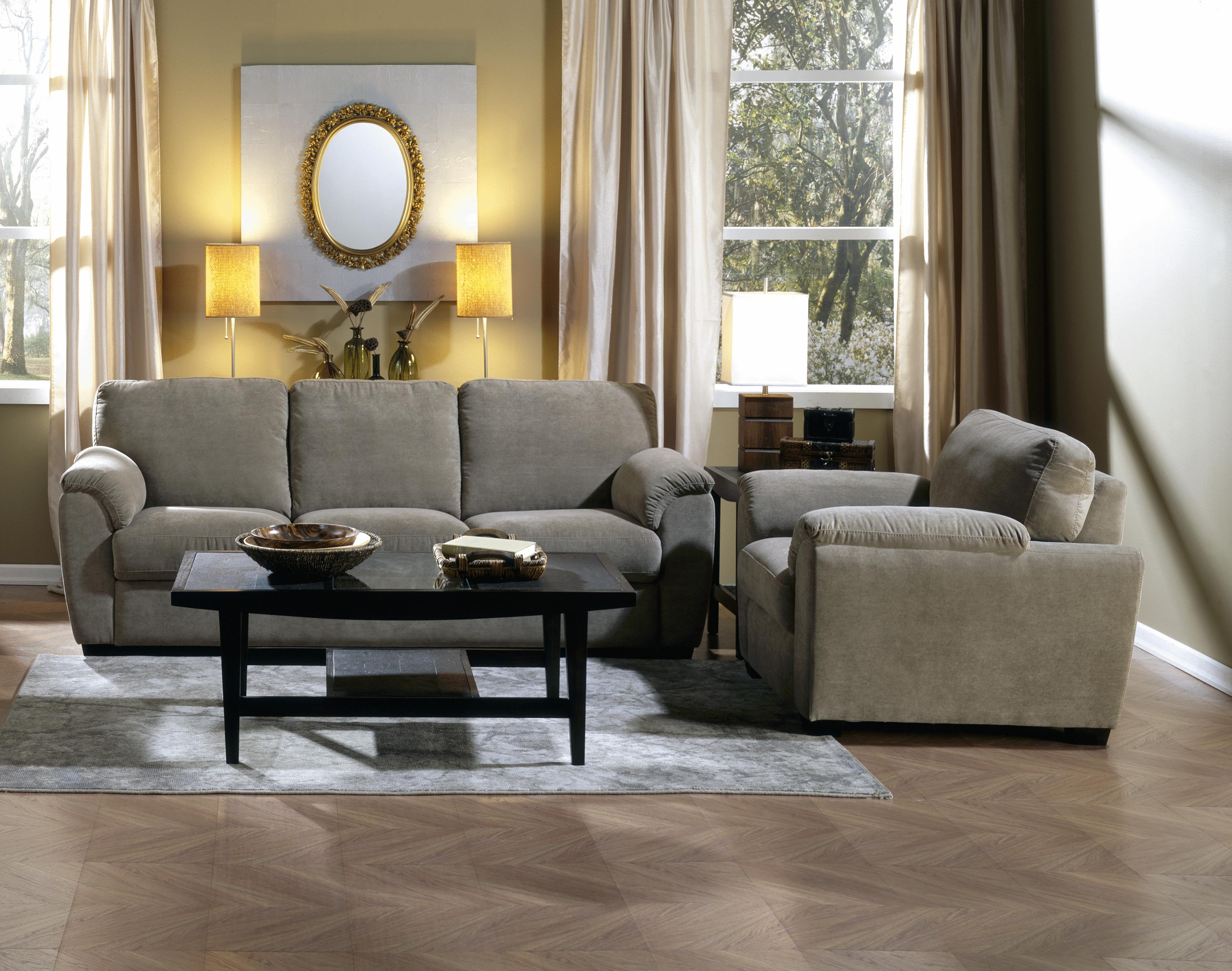 Lanza Stationary Living Room Group by Palliser at Jordan's Home Furnishings