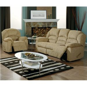 Palliser Taurus Reclining Living Room Group