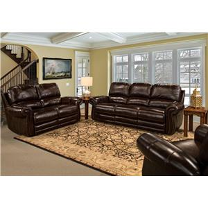 Parker Living Thurston Traditional Reclining Living Room Group