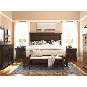 Paula Deen by Universal Down Home Queen Bedroom Group