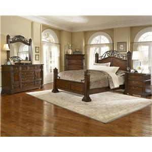 Progressive Furniture Regency California King Bedroom Group