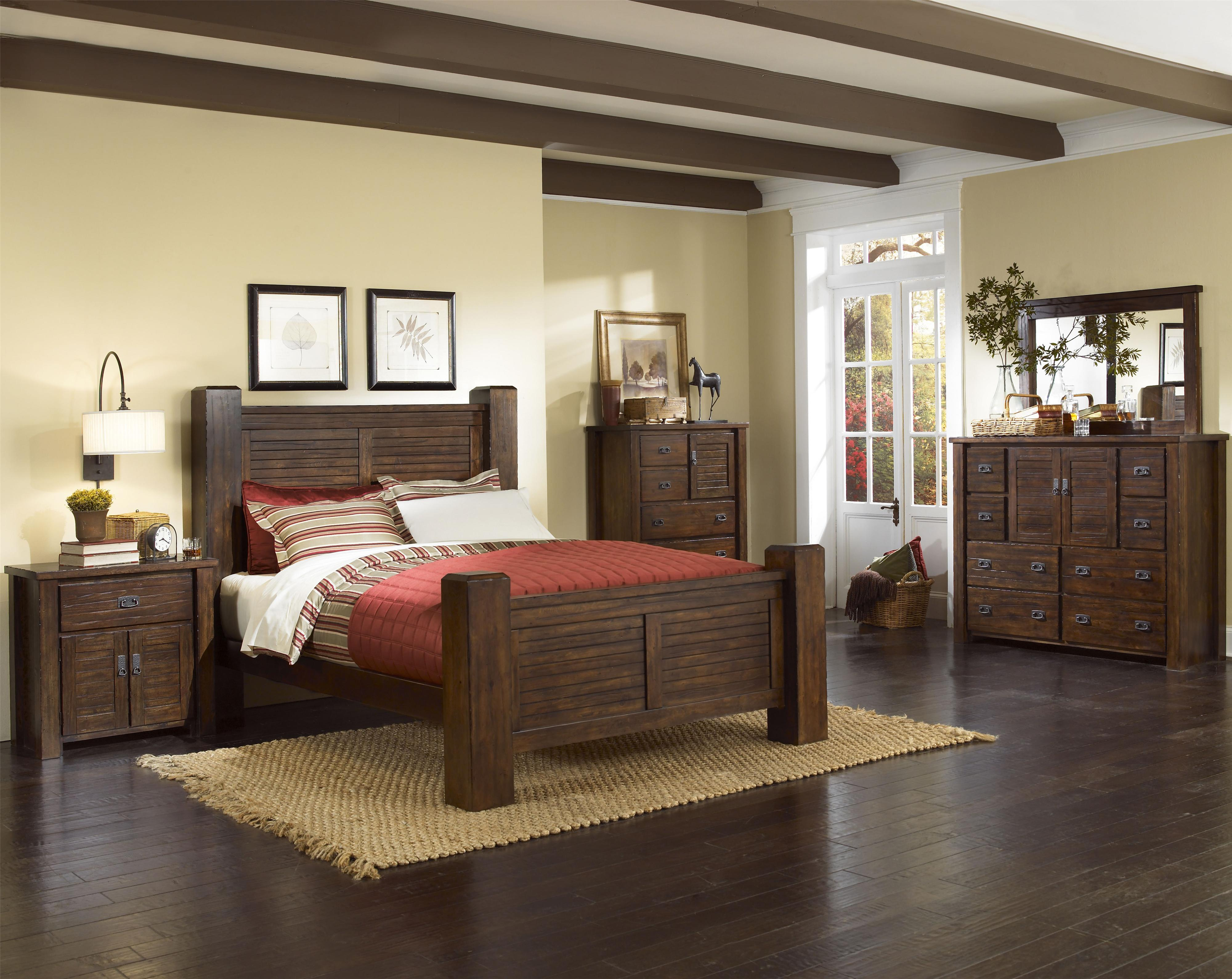 Trestlewood California King Bedroom Group by Progressive Furniture at Bullard Furniture