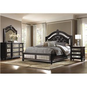 Pulaski Furniture Reflexions California King Bedroom Group