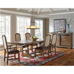 Samuel Lawrence American Attitude Formal Dining Room Group