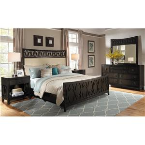Samuel Lawrence Aura Cal King Bedroom Group