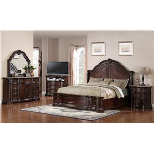 Samuel Lawrence Edington California King Bedroom Group