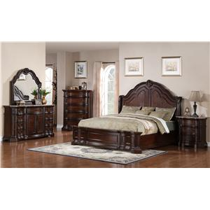 Samuel Lawrence Edington King Bedroom Group