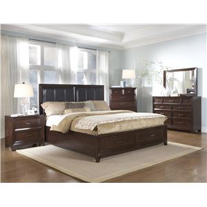 Samuel Lawrence Fairview California King Bedroom Group