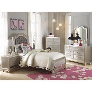 Samuel Lawrence Lil Diva Twin Bedroom Group