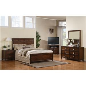Samuel Lawrence Bayfield California King Bedroom Group