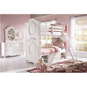 Samuel Lawrence SweetHeart Youth Twin Bedroom Group