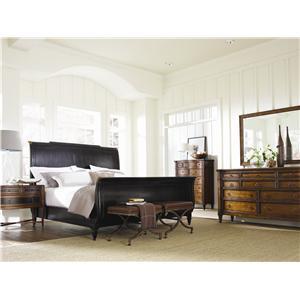 Caracole Home American Kaleidoscope Queen Bedroom Group