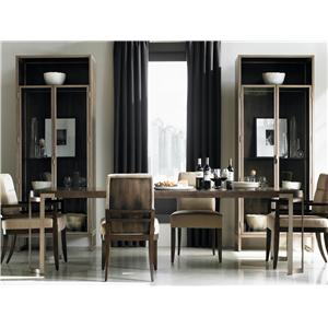Schnadig Modern Artisan Formal Dining Room Group