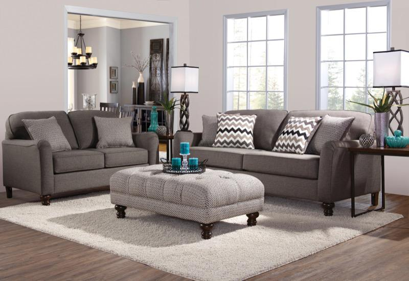 4050 Stationary Living Room Group by Serta Upholstery by Hughes Furniture at Rooms for Less