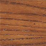 Medium Brown Oak Finish Over Oak Veneer and Hardwood Solids