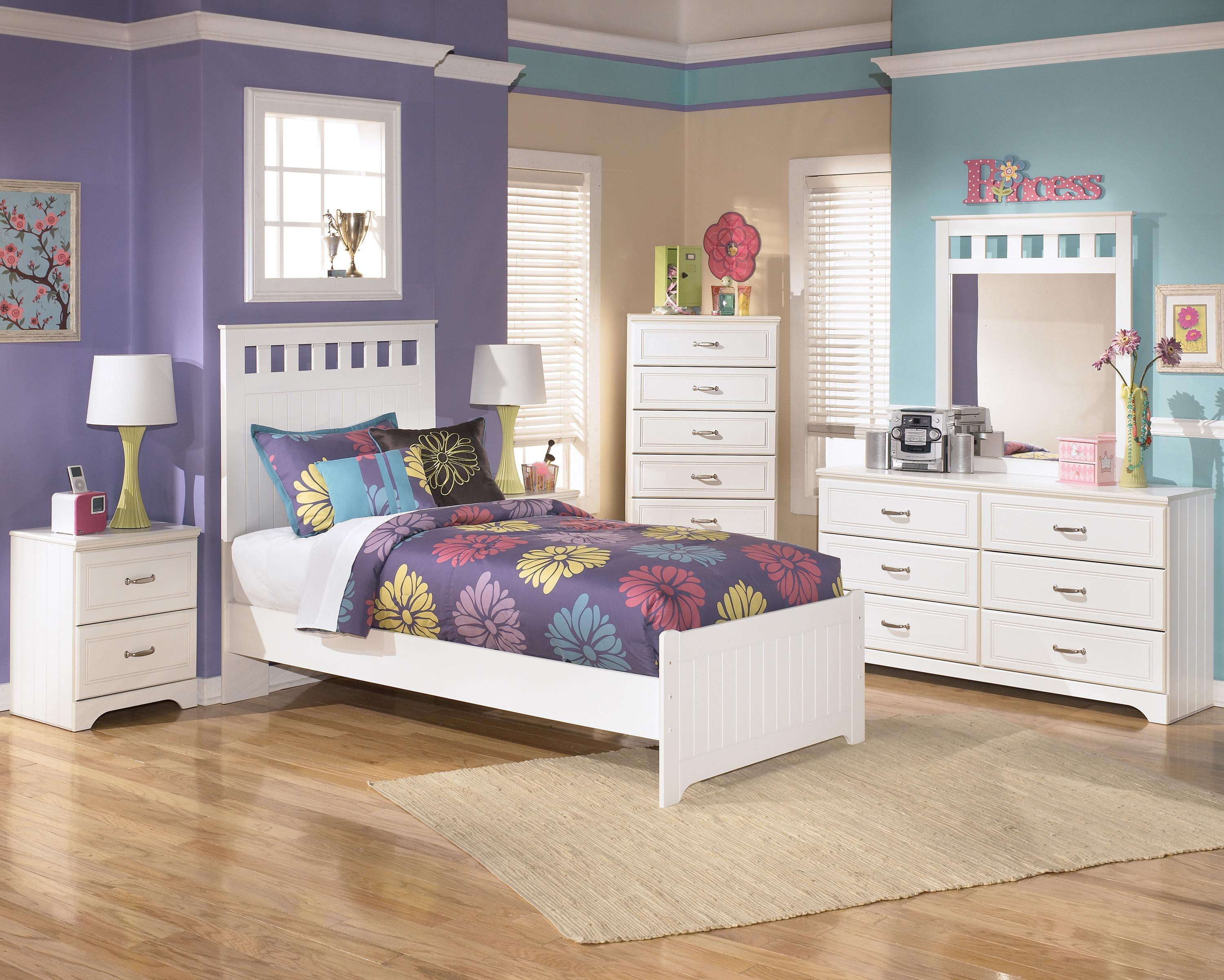 Lulu Twin Bedroom Group by Signature Design by Ashley at Zak's Warehouse Clearance Center