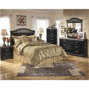 Signature Design by Ashley Furniture Constellations Queen/Full Bedroom Group