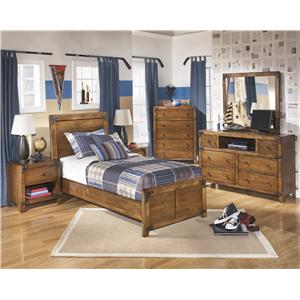 Signature Design by Ashley Delburne Twin Bedroom Group