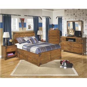 Signature Design by Ashley Delburne Full Bedroom Group