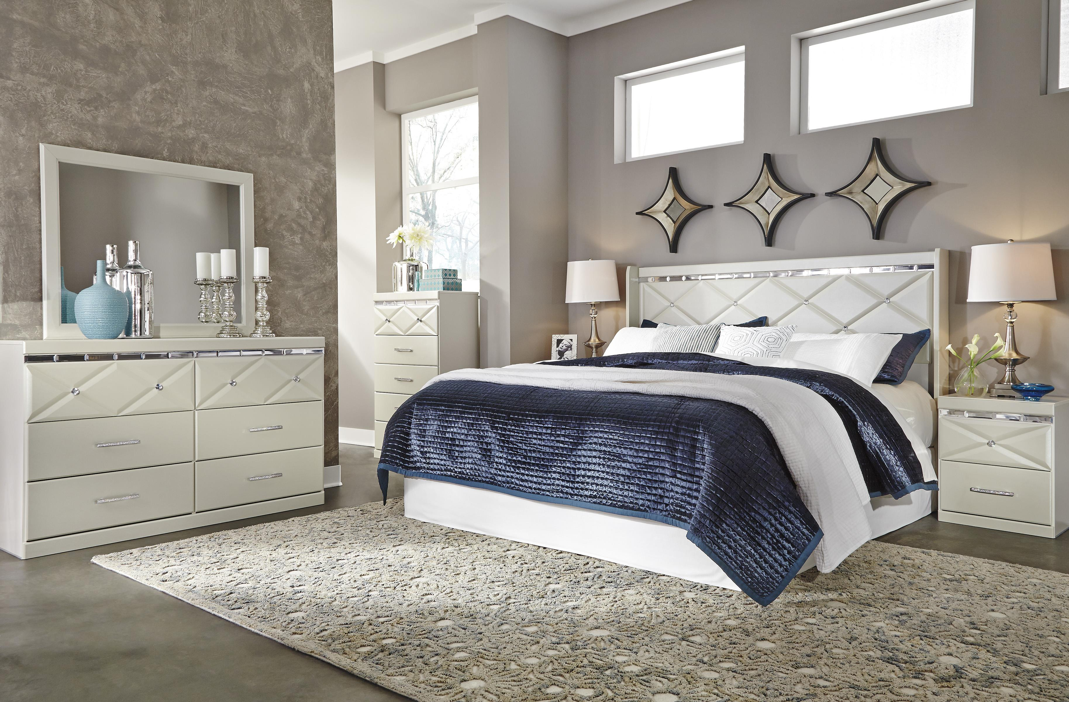 Dreamur King Bedroom Group by Ashley (Signature Design) at Johnny Janosik