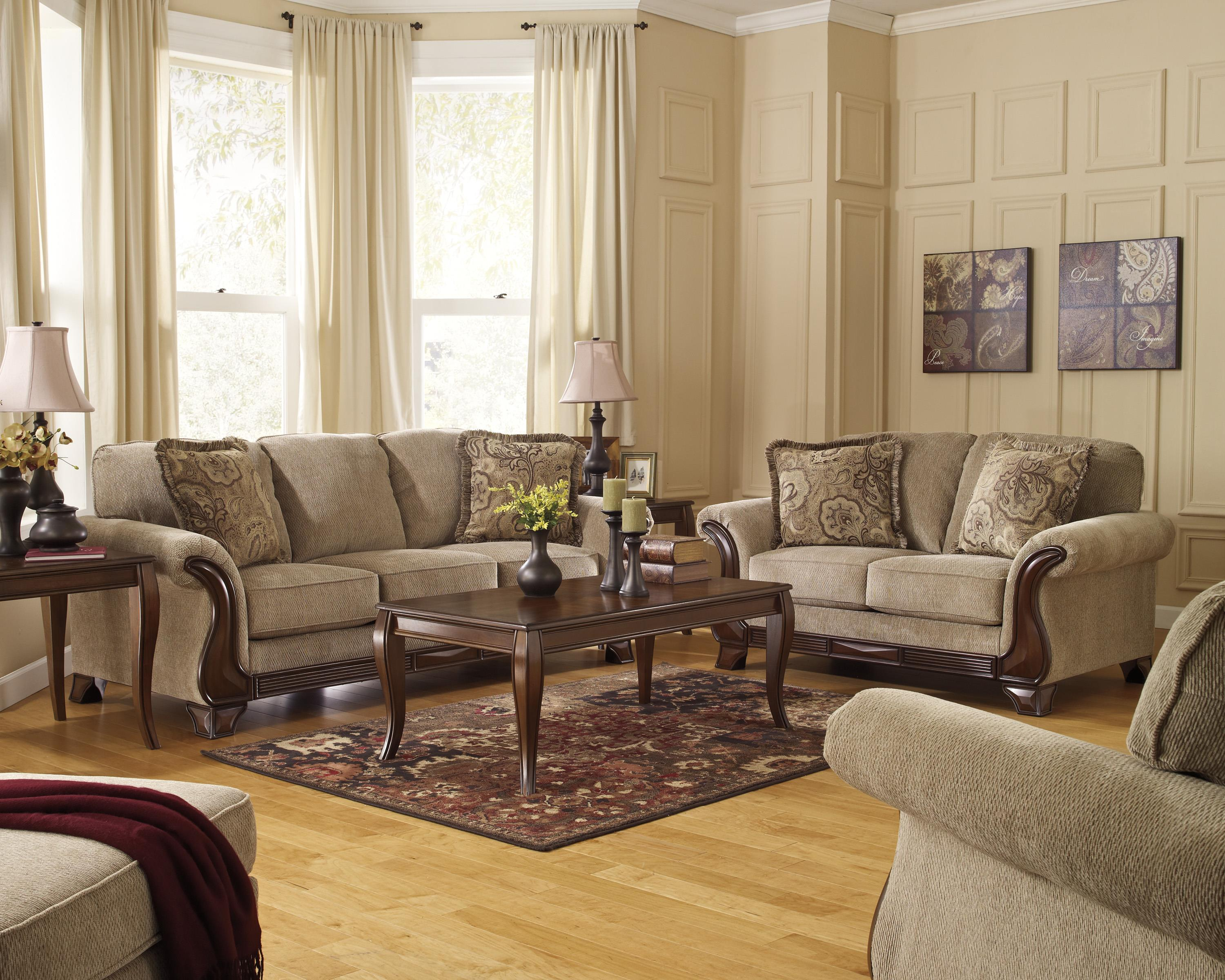 Lanett Stationary Living Room Group by Signature Design by Ashley at Northeast Factory Direct