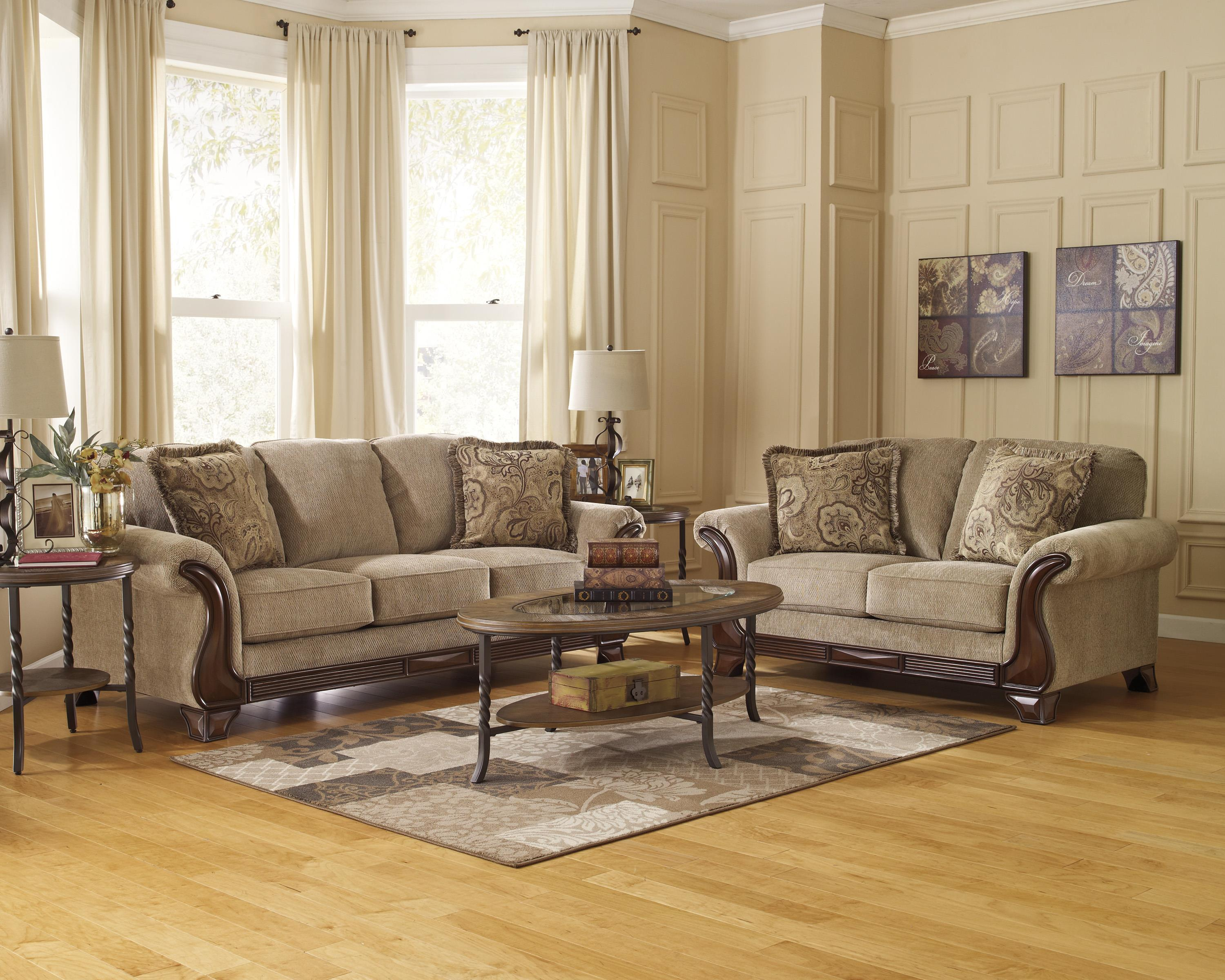 Lanett Stationary Living Room Group by Signature Design by Ashley at Suburban Furniture