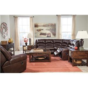 Signature Design by Ashley Manzanola Reclining Living Room Group