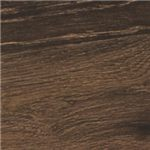 Warm Dark Brown Finish over Replicated Oak Grain
