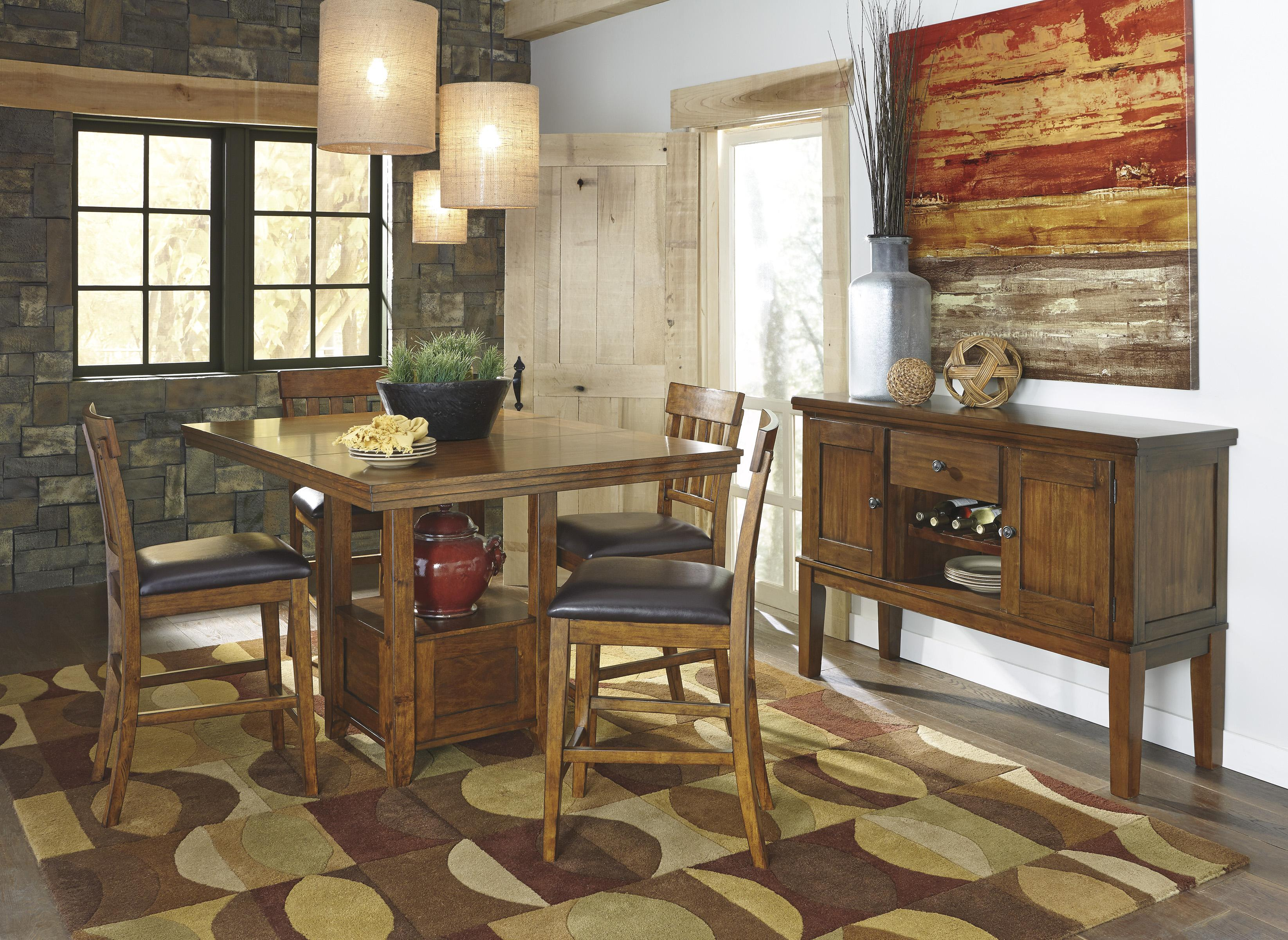 Ralene Casual Dining Room Group by Ashley Signature Design at Rooms and Rest