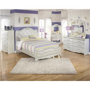 Signature Design by Ashley Zarollina Full Bedroom Group