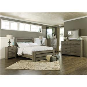 Signature Design by Ashley Zelen Queen Bedroom Group