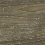 Warm Gray Vintage Finish with White Wax Effect over Replicated Oak Grain