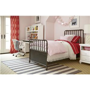 Smartstuff Black and White Full Bedroom Group