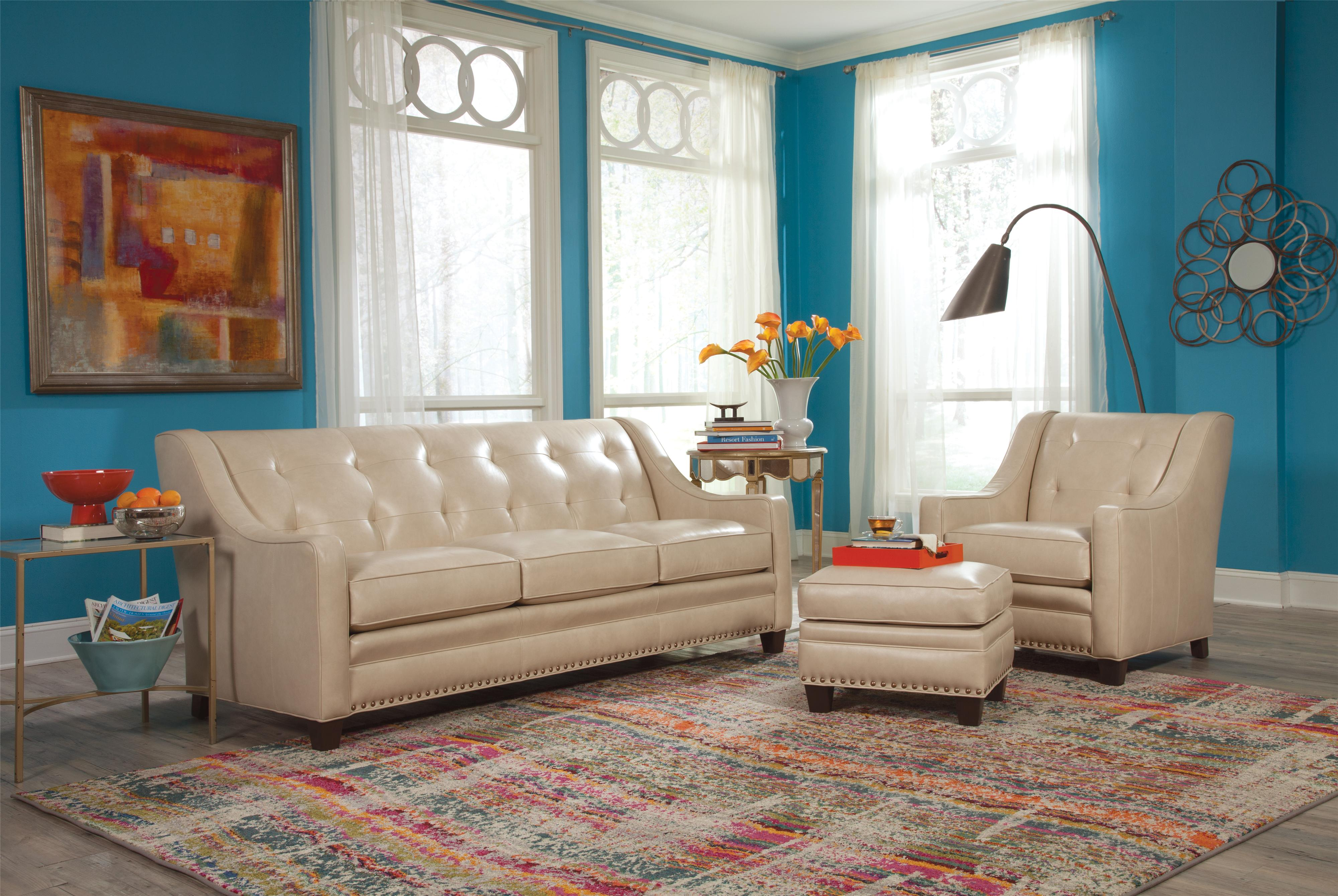 203L Living Room Group 1 by Smith Brothers at Sprintz Furniture